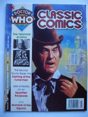 Doctor Who Classic Comics #26 Cybermen Ice Warriors